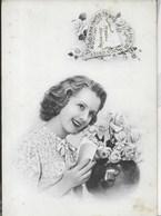 CARTOLINA D'AMORE - SCRITTA E DATATA 1943 - San Valentino