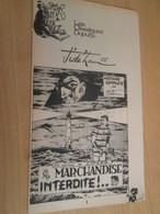 SPI2019 Supplément à SPIROU N°1996 De 1976 / CLASSIQUES DUPUIS / JIDEHEM - MARCHANDISE INTERDITE - Spirou Magazine