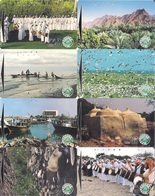United Arab Emirates (UAE), Magnetic Early Pictorial Phone Card, (Set Of 8 Cards) - United Arab Emirates