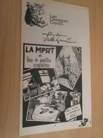 SPI2019 Supplément à SPIROU N°2011 De 1976 / CLASSIQUES DUPUIS / JIDEHEM - LA MORT ET LES 4 PETITS COPAINS - Spirou Magazine