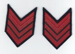 Gradi Manica Appuntato Carabinieri - Anni 80 - Obsoleti - (165-2) Police Carabinieri Corporal Ranks - Polizia