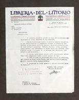 Pubblicità Editoria - Libreria Del Littorio - Sollecito Saldo - Anni '30 - Pubblicitari