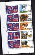 Serie Nº 3059/63 Belgica - Perros