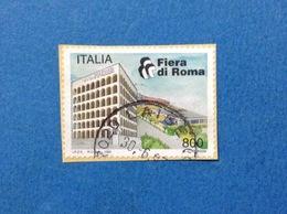 1997 ITALIA FRANCOBOLLO USATO STAMP USED FIERA DI ROMA - 6. 1946-.. Repubblica