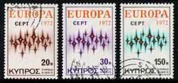CYPRUS 1972 - Set Used - Chypre (République)