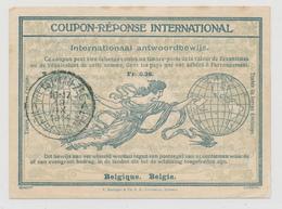 461DT - PREMIERS MOIS De GUERRE - Coupon-Réponse émis à HEYST Aan ZEE Le 19 IX 1914 , Durant L'invasion Allemande - Invasion