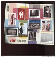 Belgie Blok Feuillet BL180 Antwerp Fashion Mode Beirendonck Bikkembergs Branquinho Demeulemeester MNH 4019/28 - Blocks & Sheetlets 1962-....