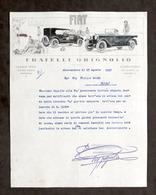 Pubblicità Concessionaria Fiat Grignolio Alessandria - Attesa Saldo Agosto 1927 - Pubblicitari