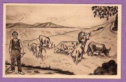 Types Du Pays Basque Par Legat Vaches Revenant D Hendaye - Non Classés