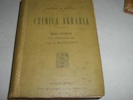 MANUALE HOEPLI CHIMICA AGRARIA 1912 - Libri, Riviste, Fumetti