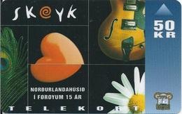 """FAROE ISLANDS -Skeyk - Musical """" - 35.000EX - Faroe Islands"""