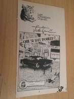 SPI2019 Supplément à SPIROU N°2016 De 1976 / CLASSIQUES DUPUIS / JIDEHEM - QUI SE FAIT ROULER ? - Spirou Magazine