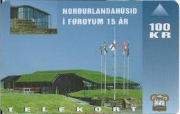 FAROE ISLANDS -Nordic House 15 Year - 15.000EX - Faroe Islands