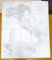 Militaria Quadro Unione Levate Di Campagna Per Carta Topografica Del Regno 1937 - Altri