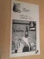 SPI2019 Supplément à SPIROU N°2009 De 1976 / CLASSIQUES DUPUIS / JIDEHEM - LE FANTOME ET LE COLONEL - Spirou Magazine