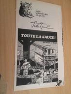SPI2019 Supplément à SPIROU N°2007 De 1976 / CLASSIQUES DUPUIS / JIDEHEM - TOUTE LA SAUCE ! Sur La Nappe ? - Spirou Magazine