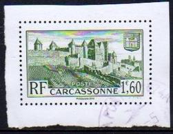 France 2018 Oblitéré Carcassonne Issu Du Bloc Trésors De La Philatélie - Francia