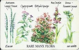 ISLE OF MAN - Rare Manx Flora - 5.000EX - Isola Di Man