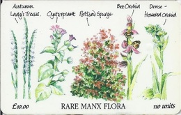 ISLE OF MAN - Rare Manx Flora - 5.000EX - Man (Eiland)
