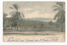 Congo Belge Le Village Samuel à Boma Carte Postale Ancienne - Belgian Congo - Other