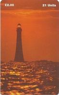 ISLE OF MAN - Chicken Rock LIGHTHOUSE - 20.000EX - Man (Eiland)