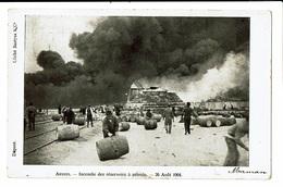 CPA - Carte Postale-Belgique- Antwerpen-Incendie Le 24/08/1904 Des Réservoirs à Pétrole VM4441 - Antwerpen