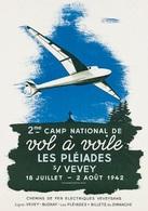 @@@ MAGNET - 2me Camp National De Vol à Voile - Les Pléiades S. Vevey - Publicitaires