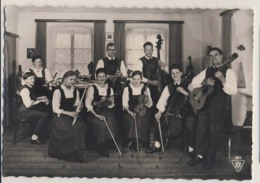 AK31 People - Die Engel Familie, Reutte, Tirol - RPPC, Musicians - Music And Musicians