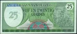 SURINAME - 25 Gulden 01.11.1985 UNC P.127 B - Suriname