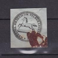 Braunschweig - 1856 - Telegr. Ausschnitt - Brunswick