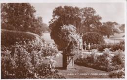 AP54 Darley Abbey Park, Derby - 1940's RPPC, Slogan Postmark - Derbyshire