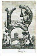 CPA - Carte Postale-Belgique- Jeune Fille Jouant Sur Une Guitare-1905 VM4443 - Femmes