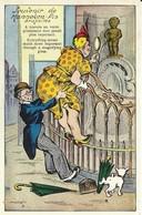 "4598 ""SOUVENIR DE MANNEKEN PIS BRUXELLES-N° 28""-CART. POST.ORIG. SPED 1965 - Humor"