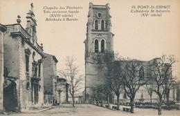CPA - France - (30) Gard - Pont-Saint-Esprit - Cathédrale St-Saturnin - Pont-Saint-Esprit