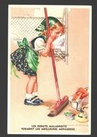 Les Débuts Maladroits Forment Les Meilleures Ménagères - Humour