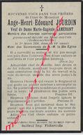 En 1930- Mont Des Cats (Godewaerswelde) (59) Ange JOURDIN Ep Eugénie LAMERANT 84ans - Décès