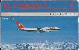 SWITZERLAND - Swissair Boeing 747-357 AIRPLANE - 10.000EX - Switzerland