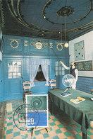 D37517 CARTE MAXIMUM CARD FD 1994 NETHERLANDS - PLANETARIUM EISE EISINGA FRANEKER CP ORIGINAL - Astronomie