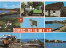 AN22 Isle Of Man Multiview Postcard - Isle Of Man