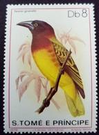 Sao Tome Et Principe 1979 Animal Oiseau Bird Yvert 560 ** MNH - São Tomé Und Príncipe
