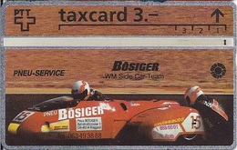 SWITZERLAND -  Bösiger - WM Side Car Team  - 1.000EX - Switzerland
