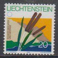"""Liechtenstein 1983 """"Europarat-Kampagne""""  1v ** Mnh (43439) - Europese Gedachte"""