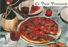 La Pizza Provencale.  (scan Verso) - Recettes (cuisine)