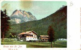 St. Jon. Suiza Switzerland Suisse Schweiz - GR Grisons