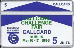 IRELAND - Dublin Callcard Challenge Fair 1996 - Ireland