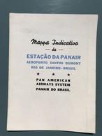 Voies Aériennes Panaméricaines - Carte Du Littoral De Rio De Janeiro Et Localisation Du Port De Panair - Zeekaarten