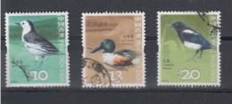 Hong Kong Michel Cat.No. Used 1399/1401 Birds - 1997-... Région Administrative Chinoise