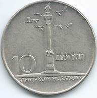 Poland - 10 Zlotych - 1966 - 200th Anniversary Of Warsaw Mint - KMY56 - Polen