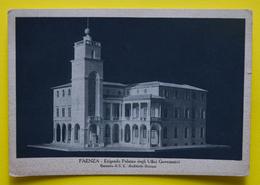 Cartolina Faenza Erigendo Palazzo Degli Uffici Governativi 1940 - Ravenna