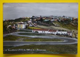 Cartolina Lacedonia AV Panorama 1960 - Avellino